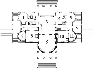 Monticello floor plan flooring ideas and inspiration for Monticello floor plan
